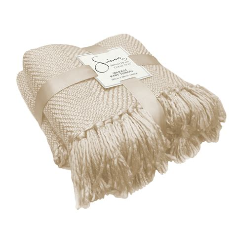 settee throw overs large shimmer knit throw tassel fringe sofa