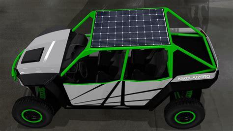 electric utv concept  nikola motor   hp