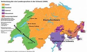 Die Sprachrume Der Schweiz Lexas Lnderinformationen