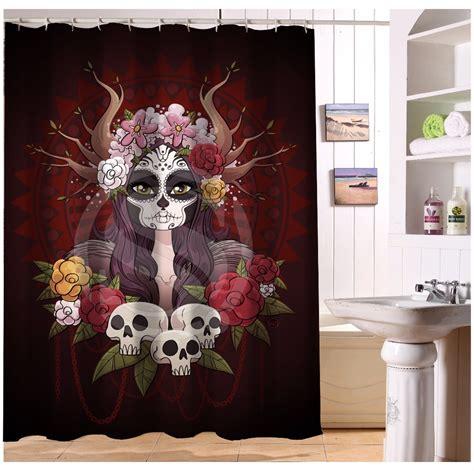 U419 71 Custom Home Decor Cool Pirate And Skull Fabric