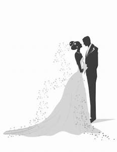 Wedding Bride And Groom Clipart - Clipart Suggest