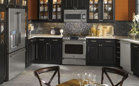 kitchen ideas with black appliances black appliances kitchen design quicua com