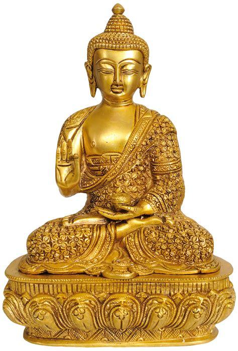 What are the verifiable facts about gautama shakyamuni buddha? Shakyamuni Buddha Preaching His Dharma (with Decorated Robe and Auspicious Symbols on Reverse)