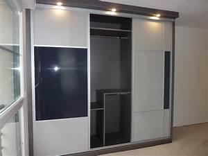 porte placard coulissante pas cher mesure maison design With porte placard coulissant pas cher