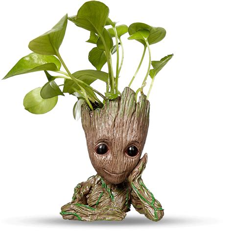 Baby Groot Pot - Planter | Flower Pot | Pen Holder | Paper ...