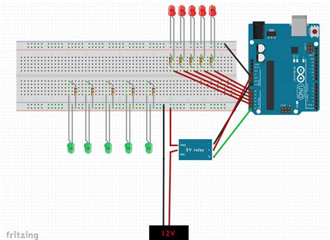 Led Usb Light by Arduino Uno Using External Power Supply To Power Leds On