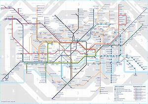 Tfl Has Redrawn The Tube Map With New Zones In East London
