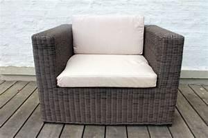 Fauteuil De Jardin En Résine Tressée : fauteuil r sine tress e modulo chocolat meubles de jardin ~ Teatrodelosmanantiales.com Idées de Décoration