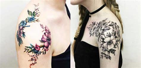 flower upper arm tattoos gastatuajes