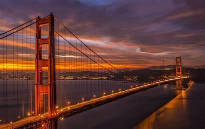 Francisco San California Bridge Gate Golden Wallpapers
