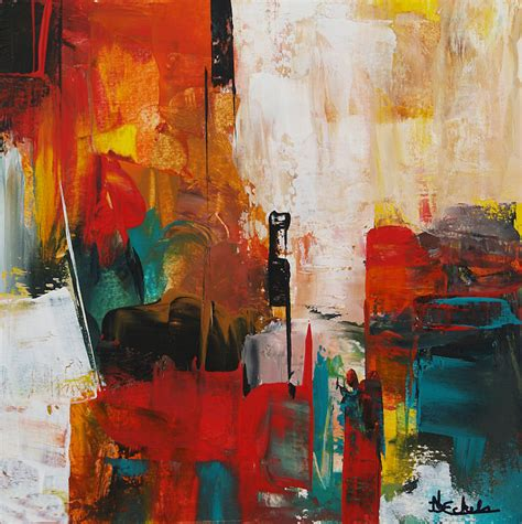 Abstract By Black Artists by Black Corner By California Artist Nancy Eckels Abstract