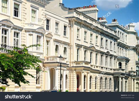 Elegant Apartment Building Notting Hill London Stock Photo