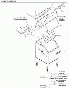 Scotsman Htb500 Bin Parts Diagram