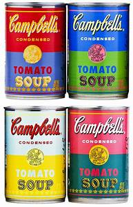 Campbell's Releases Soup Cans Featuring Andy Warhol's Pop ...
