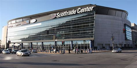 kiel center parking garage entrances scottrade center