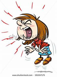 Girl Yelling Clipart (73+)