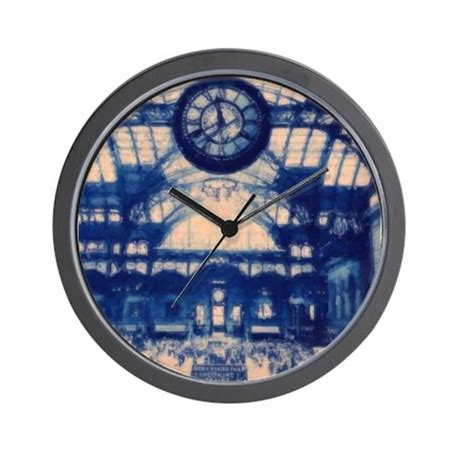 grand central station wall clock by bluesyworld