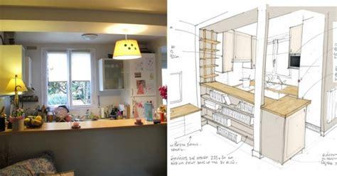 amenagement cuisine rectangulaire comment optimiser l 39 aménagement d 39 une cuisine ouverte