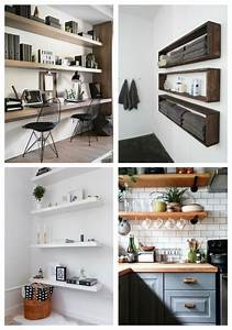 31, Floating, Shelves, Ideas, For, Your, Home