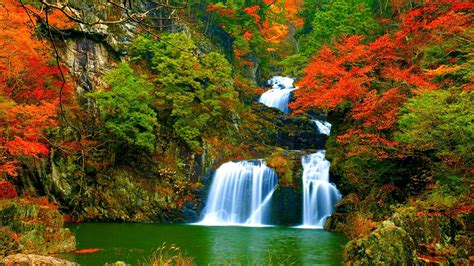 Animated Autumn Wallpaper - animated waterfall wallpaper with sound 46 images