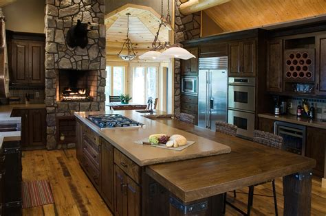 Designs Of Rustic Kitchens  Modern Home Design Ideas