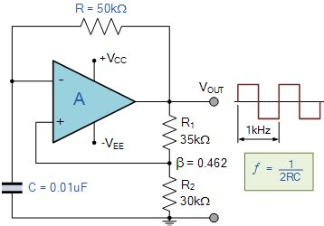 Amp Multivibrator Astable