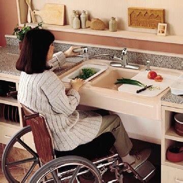 wheelchair kitchen design barrier free kitchens 1001