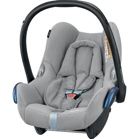 coque siege auto siège auto coque cabriofix nomad grey groupe 0 de bebe