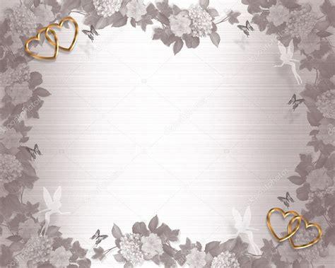 wedding invitation background fairies stock photo