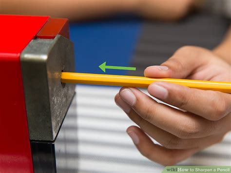 3 Ways To Sharpen A Pencil  Wikihow