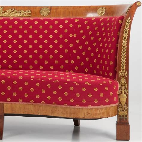 canapé napoléon iii napoleon iii mahogany antique sofa canapé settee
