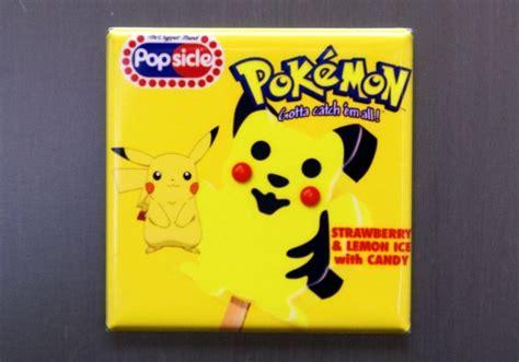 pokemon popsicle pikachu game refrigerator nintendo fridge magnet k29 snacks inspired thewildrobot mon halloween wild arcade chef robot mcdonalds