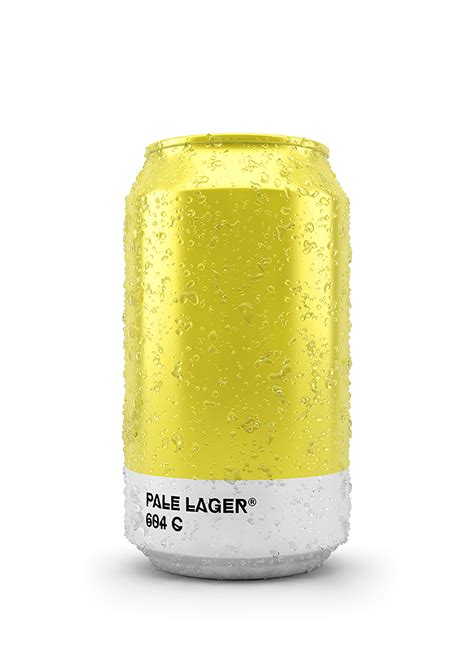 pantone color shades   beer packaging