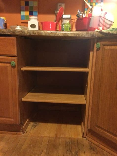 removing kitchen cabinets for dishwasher removal of dishwasher and replaced with shelving for the