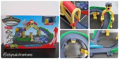 Chuggington Stacktrack Playset Tomy Action Tunnel Brewster