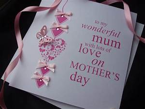 Exclusive Luxury Handcrafted Mothers Day Cards - Handmade ...