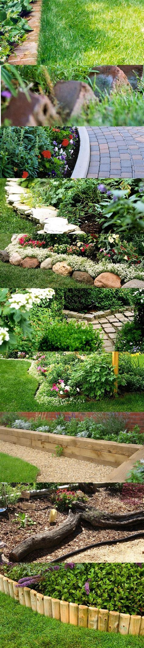 garden bed borders edging ideas for vegetable and flower