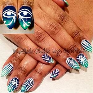 17 Best images about Tribal Nail Art on Pinterest | Nail ...