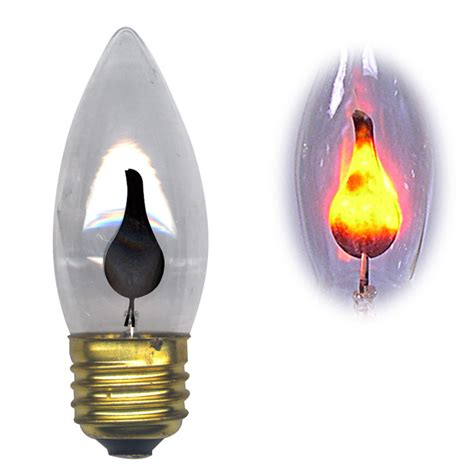 light bulbs flicker candelabra standard base