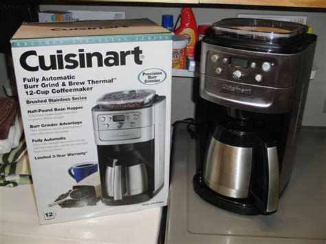 Cuisinart 12 Cup Grinder/brewer Coffee Maker South Nanaimo Death Head Coffee Camp Baileys Equivalent Spot Ingleburn Red Eye Midvale Drip Kenmore In Hamburg