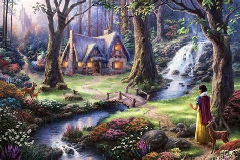 snow white fairy tale fantasy qr room home wall modern