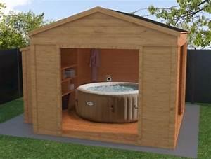 Abri Pour Spa Intex : structure bois pour spa gonflable latest pictures gallery of piscine bois spa pour piscine hors ~ Louise-bijoux.com Idées de Décoration