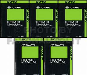 2010 Toyota Camry Wiring Diagram Manual Original
