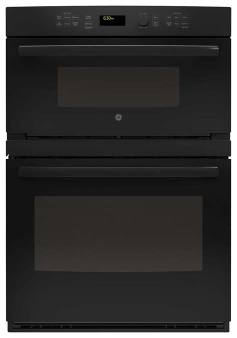 ge  single electric wall oven  built  microwave