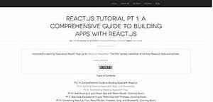 10 Resources To Get You Started With Reactjs