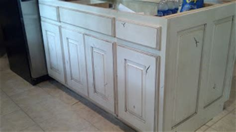 Adkisson's Cabinets: White Painted and Distressed Knotty