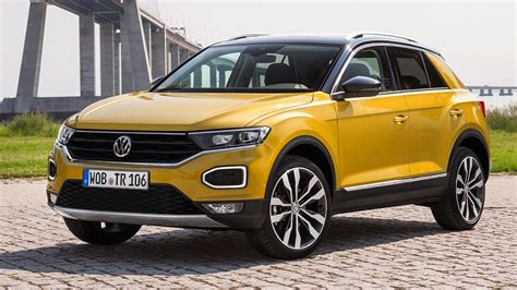 Volkswagen Car : Vw T-roc Suv (2017) Review