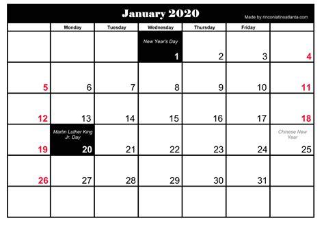 printable january calendar calendar template printable