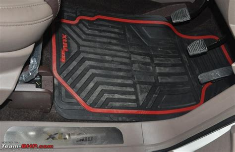 mahindra xuv500 test drive review page 423 team bhp - Floor Mats For Xuv500