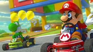 Mario Kart Switch Occasion : mario kart 8 deluxe c 39 est la saison des champignons ~ Melissatoandfro.com Idées de Décoration